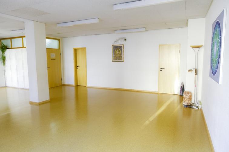 Seminarraum Yoga Ansicht 2