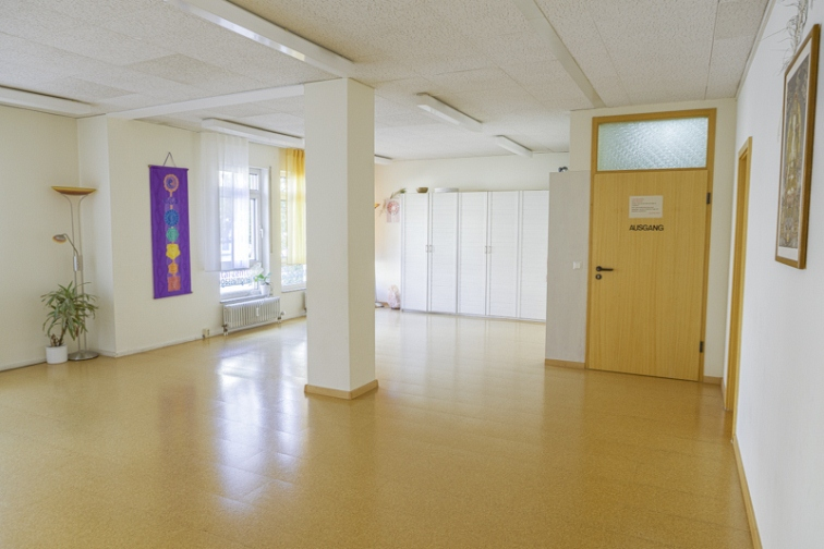 Seminarraum Yoga Ansicht 3